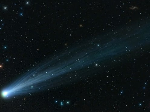 Comet Ison appears to survive close encounter with the sun | Science | The  Guardian