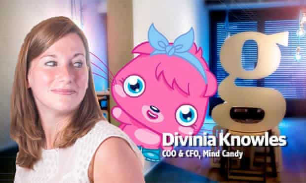 Divinia Knowles is now Mind Candy's president and CFO.