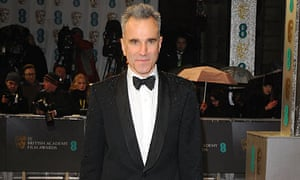 Daniel Day-Lewis arrives at the 2013 British Academy Film Awards at the Royal Opera House