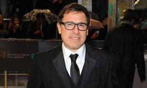 David O Russell arrives at the 2013 Bafta film awards