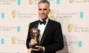 Daniel Day-Lewis, winner of the best actor award at the 2013 Baftas