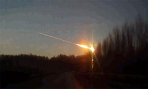 Meteor Russia Impact