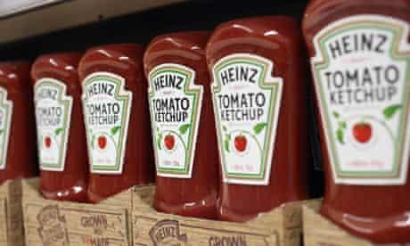 Heinz ketchup in London