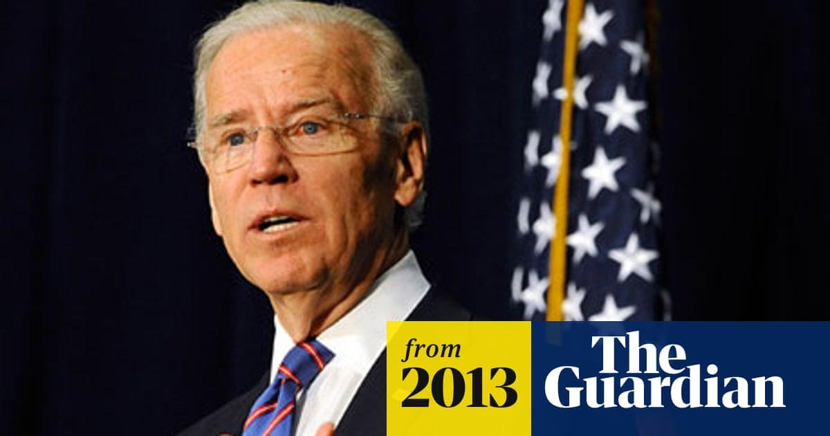 Joe Biden To Congress Take Action On Gun Control Or Face Moral Consequences Us Gun Control The Guardian