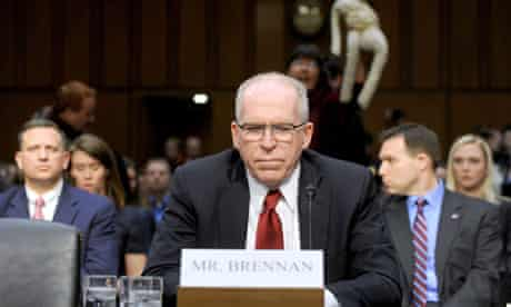 John Brennan at the Senate hearing