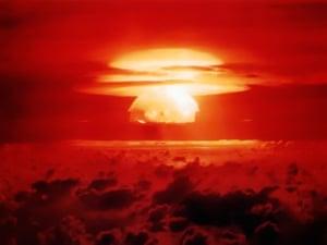Mushroom Cloud of Operation Castle-Bravo