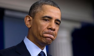 Barack Obama speaking about sequester