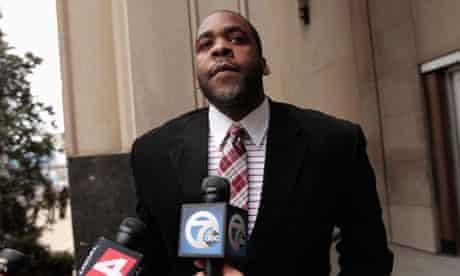 Disgraced former Detroit mayor Kwame Kilpatrick
