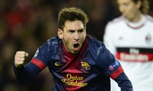 Messi-inspired Barcelona jubilant after Champions League win over AC Milan - video
