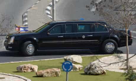 Barack Obama's limousine.