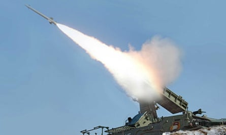North Korea suface to air missile