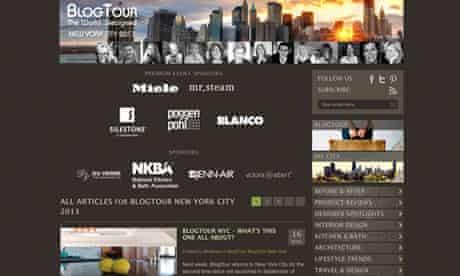 Blog Tour NYC