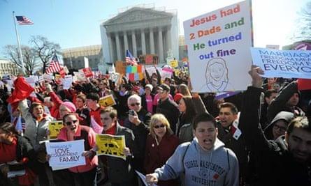 Same-sex marriage, supreme court