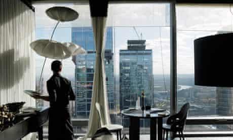Private members club, Russia, skyscraper