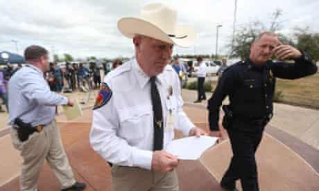 Kaufman County sheriff David Byrnes, Texas