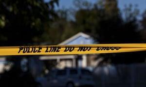 Police tape, US crime