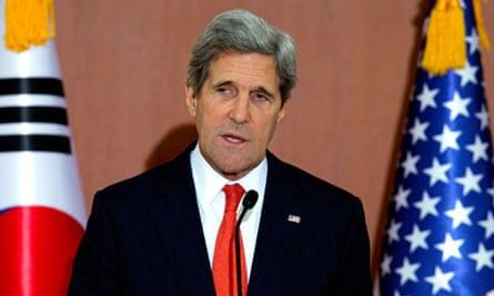 John Kerry in Seoul