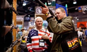 NRA gun show in St Louis