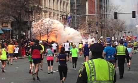 Explosion at Boston marathon