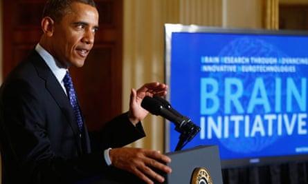 Barack Obama Brain initiative