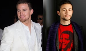 Channing Tatum and Joseph Gordon Levitt, who will star in a remake of Guys and Dolls together