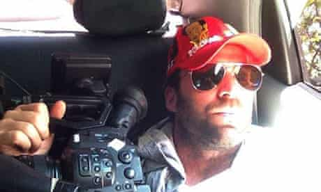 Timothy Tracy, US film-maker in Venezuela