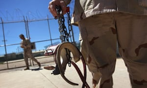 Detention center at Guantanamo Bay