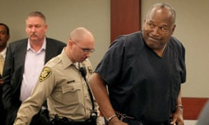 OJ Simpson at his hearing in Nevada