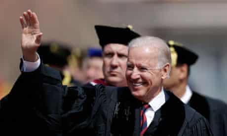 Joe Biden at University of Pennsylvania