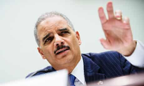Eric Holder testifies to Congress