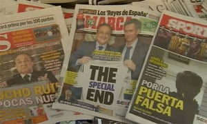 Real Madrid fans react to Mourinho's early exit - video