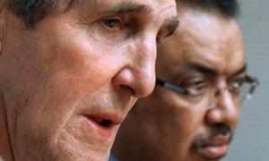 John Kerry in Ethiopia