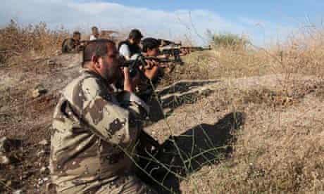 Syrian Rebels Battle