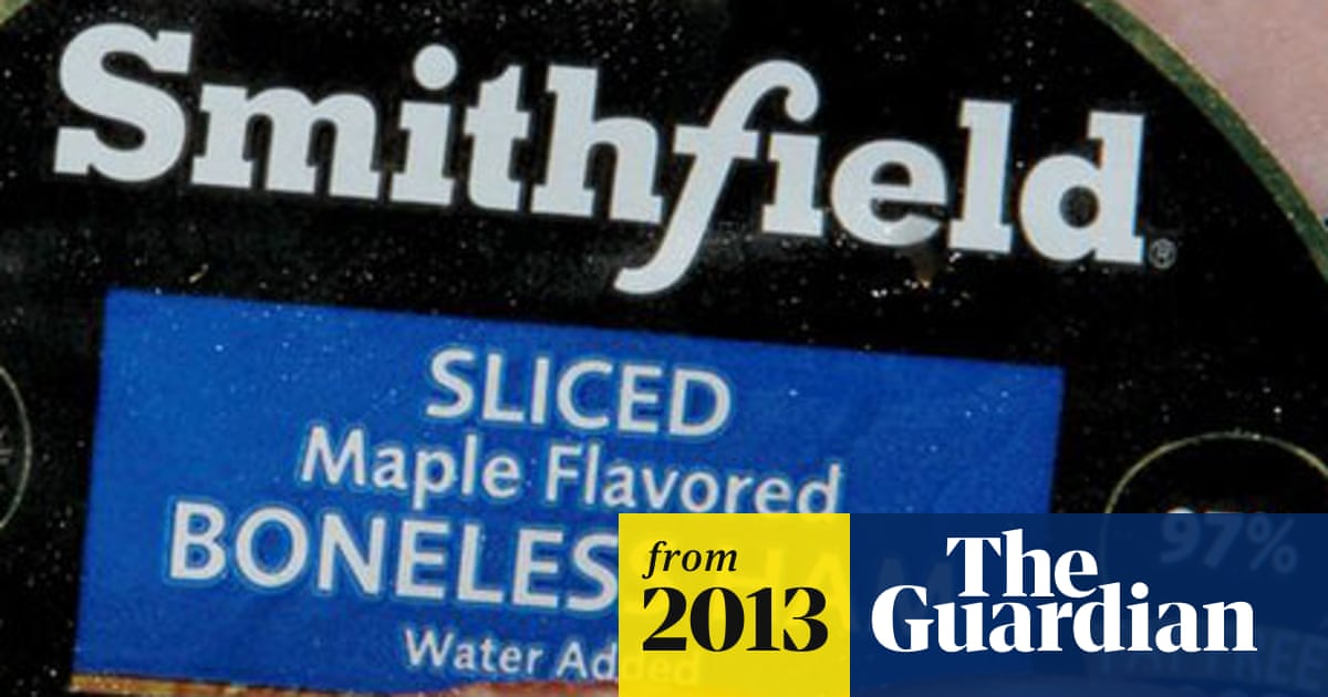 Smithfield Foods sale to Chinese firm gives US pork giant