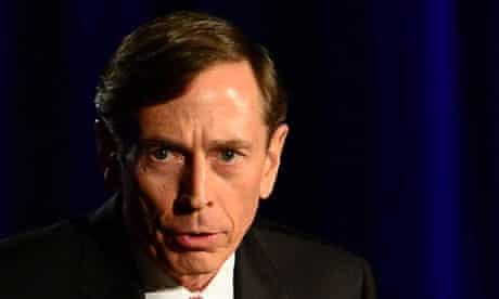 David Petraeus at a dinner at the University of Southern California