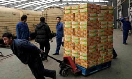 Chinese food warehouse