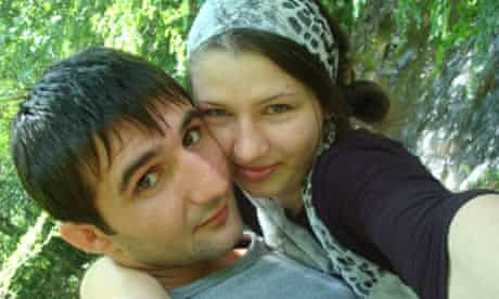 Ibragim Todashev and his wife Reniya Manukyan