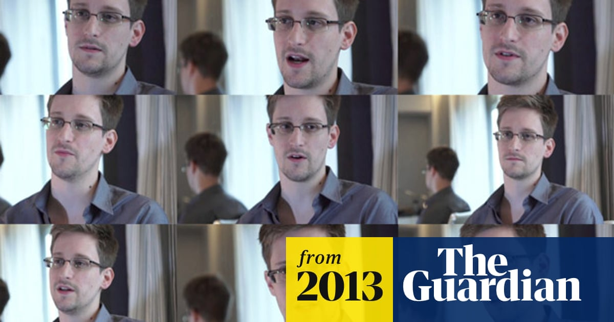 Edward Snowden: the whistleblower behind the NSA surveillance