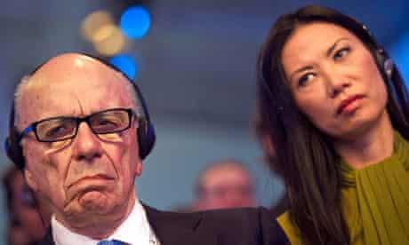 Rupert Murdoch: empire split