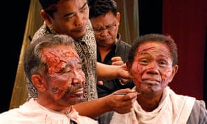 Still from The Act of Killing, a documentary about Indonesia's mass killings