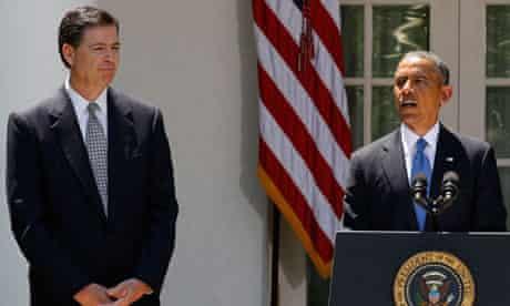 James Comey, new FBI director