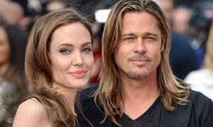 """Angelina Jolie and Brad Pitt"""