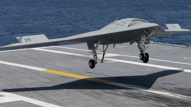 US Navy Makes History By Landing Unmanned Drone On Aircraft Carrier