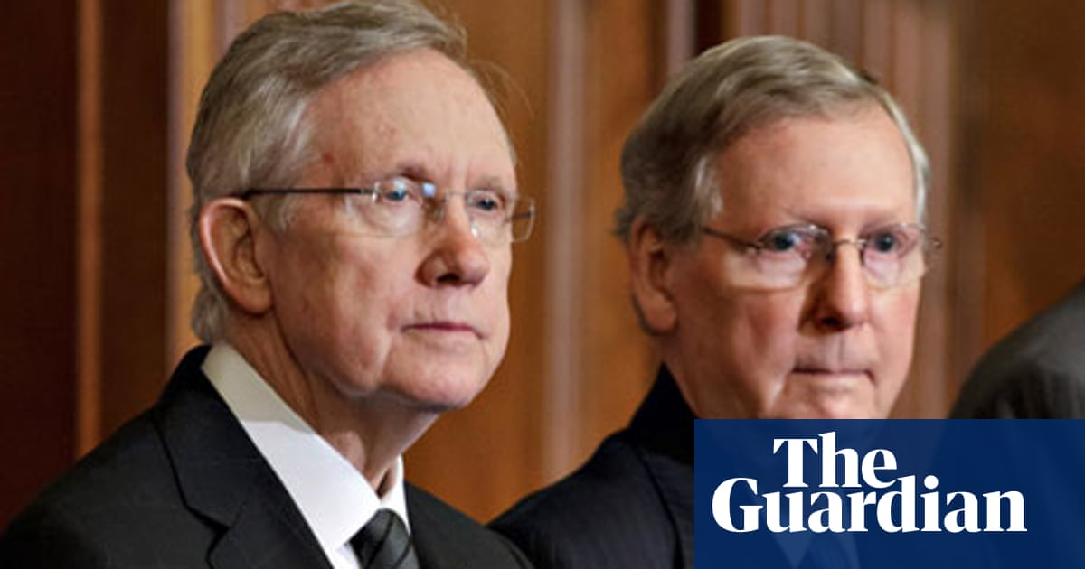 Senate Leaders Harry Reid And Mitch Mcconnell Squabble Over Rule Changes Us Senate The Guardian