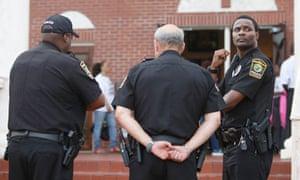 Miami police, church, Trayvon