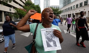 Trayvon Martin rally in Birmingham, Alabama