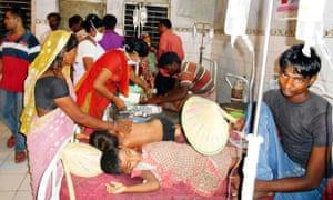Indian children die after eating school meals in Bihar