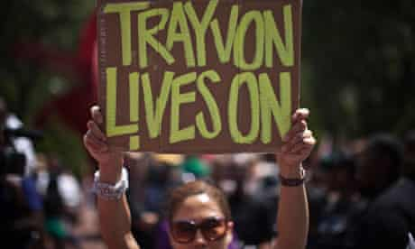 Justice For Trayvon rally in New York
