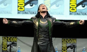 Tom Hiddleston as Loki at the 2013 Comic Con