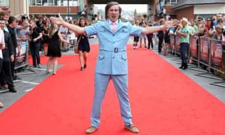 Steve Coogan as Alan Partridge at the Norwich premiere of Alan Partridge: Alpha Papa